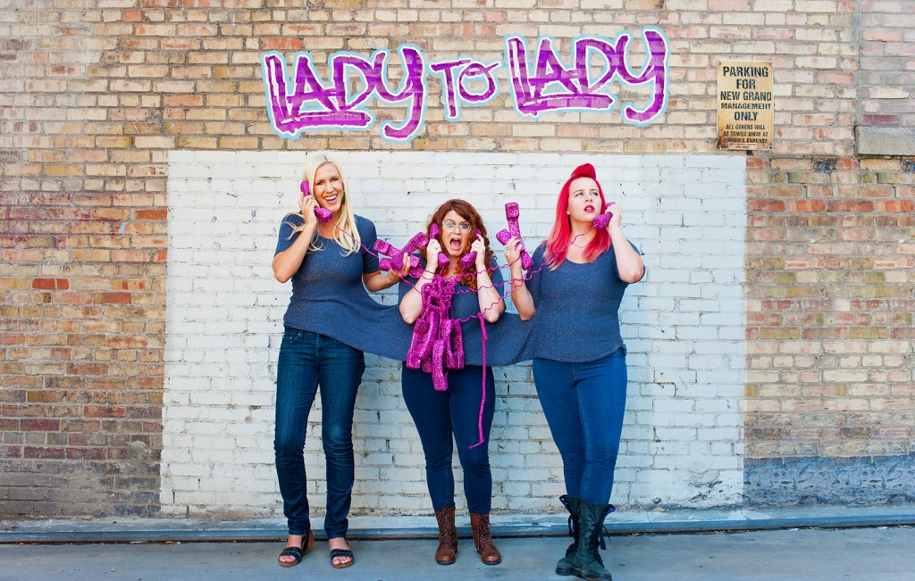 Tess Barker, Barbara Gray, and Brandie Posey | © Lady To Lady