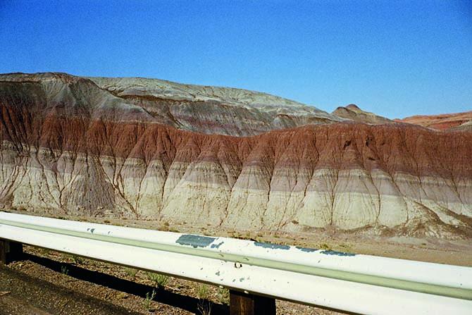 "Federal Highway 89, Arizona, June 1972. ""American Surfaces"" Federal Highway 89, Arizona, June 1972. ""American Surfaces"""
