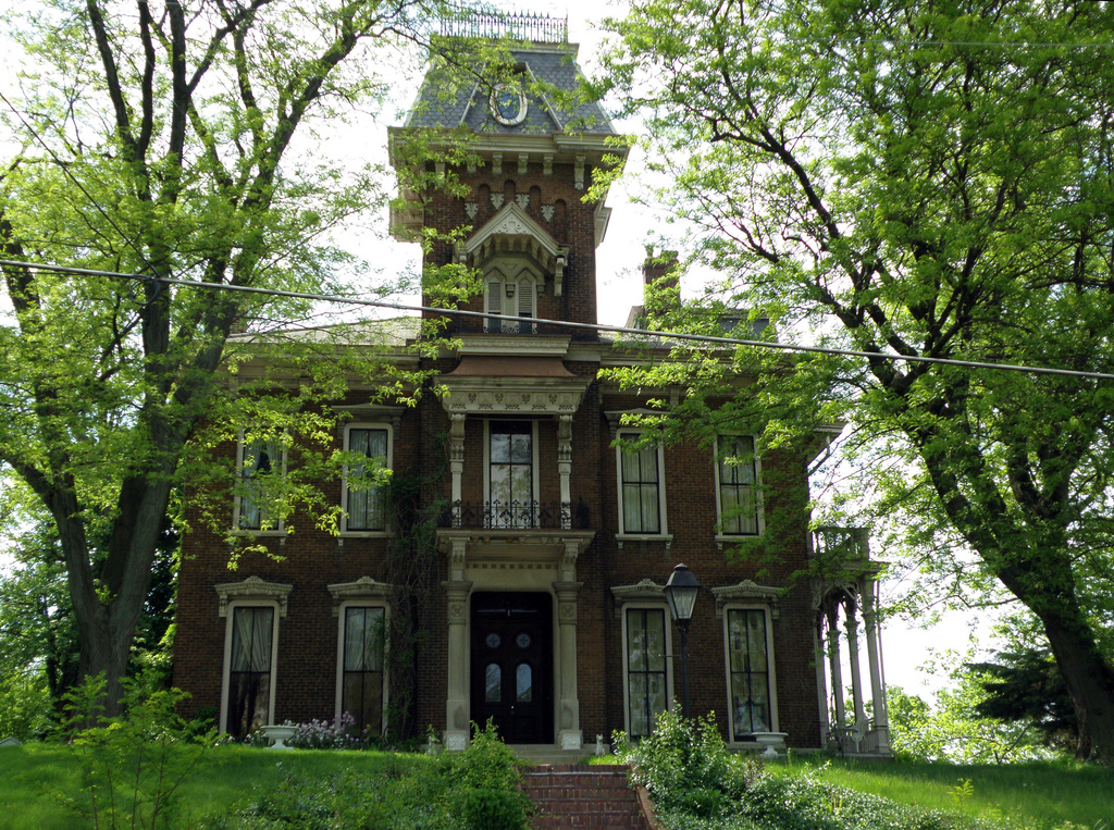 Judge Cyrus Ball House in Lafayette | © Jim Hammer/Flickr