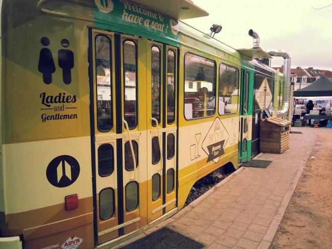 Le tram de Boitsfort |Courtesy of Le tram de Boitsfor