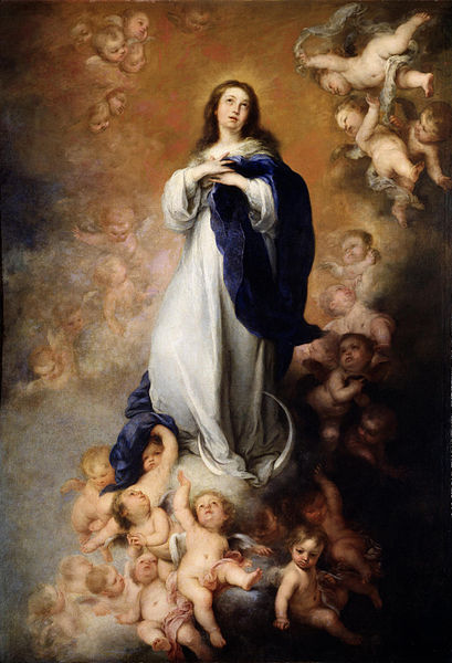 Inmaculada Concepción de los Venerables o de Soult by Bartolomé Esteban Murillo   © DIRECTMEDIA Publishing