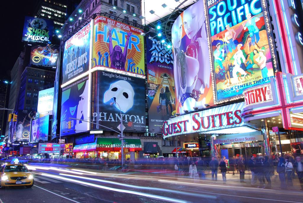 Times Square, NYC | © Matt Wade/Flickr