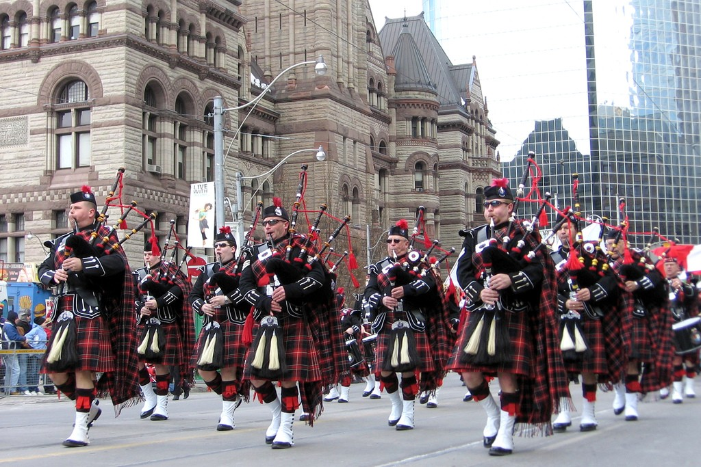 The annual Toronto St. Patrick's Day Parade on Sunday, March 13th, is bound to make you feel right at home © John Vetterli / Flickr