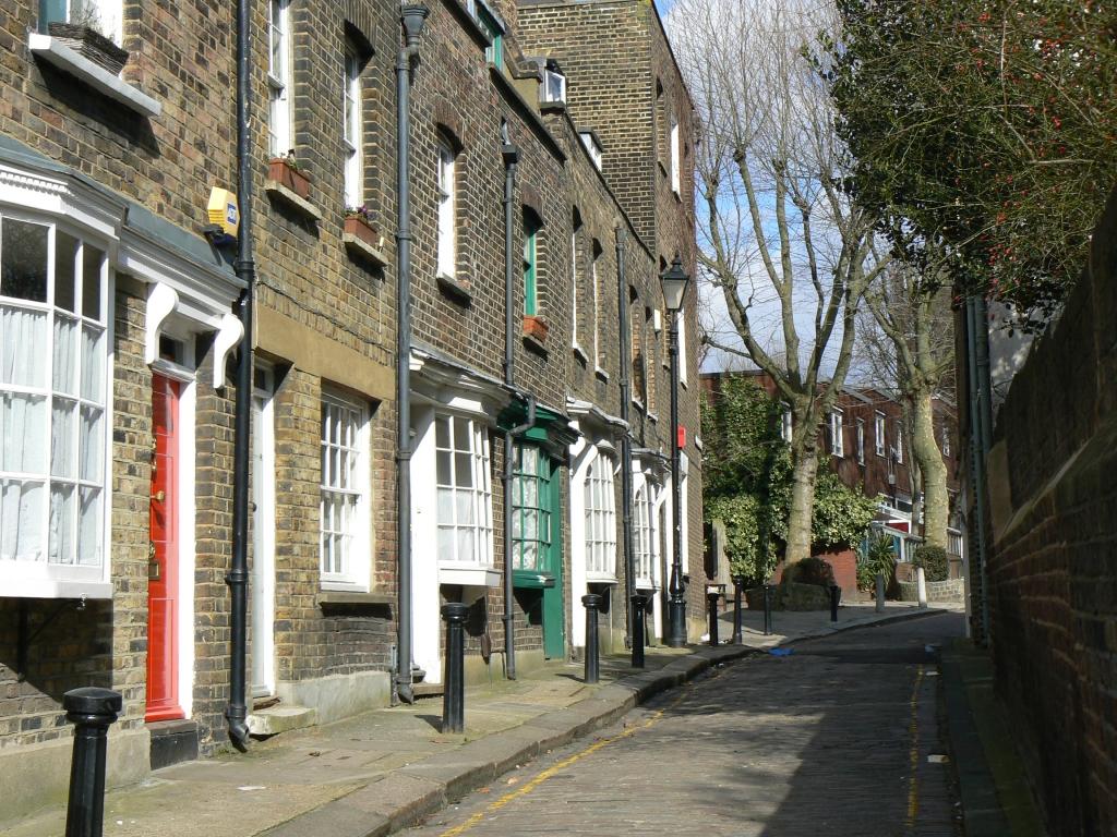 Little Green Street, Camden, London