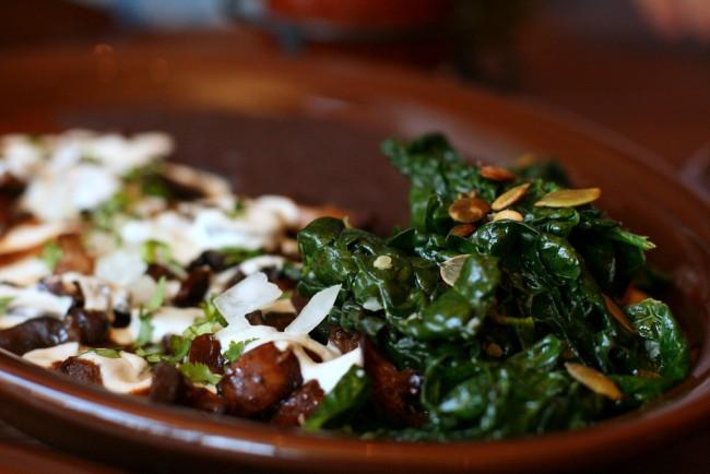 Enchiladas at Gracias Madre © Jules Morgan