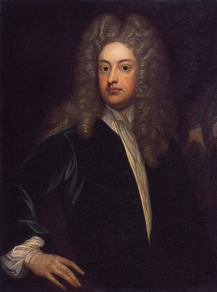 Joseph Addison, by Sir Godfrey Kneller | © DCoetzee/WikiCommons