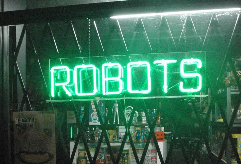 robots   ©Anthony Easton/flickr