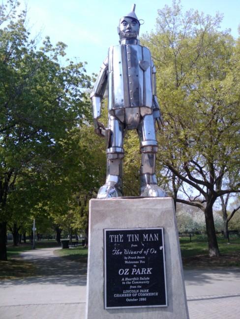 The Tin Man in Oz Park | © Ingrid Richter/Flickr