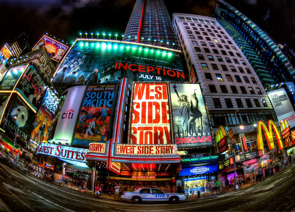 A Brief History Of New York City S Times Square