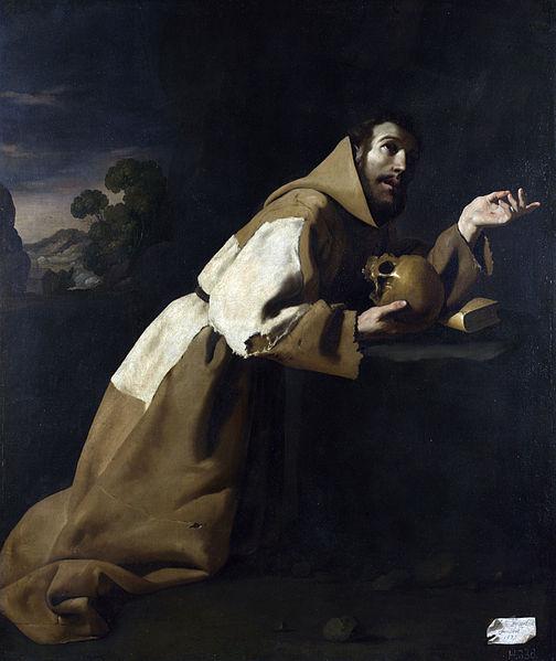 Saint Francis in Meditation by Francisco de Zurbarán   © DIRECTMEDIA Publishing