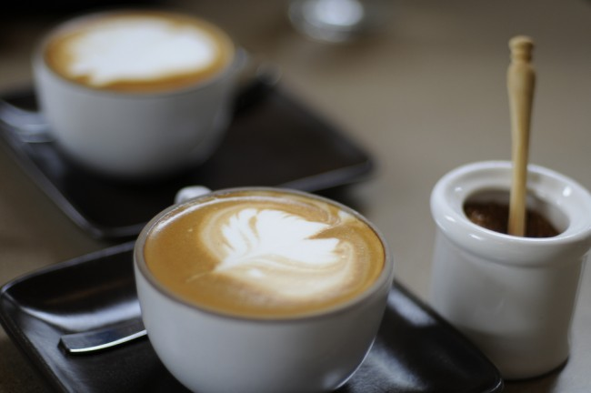 A cup of artisan coffee at Nopa © Brian Bilek/Flickr