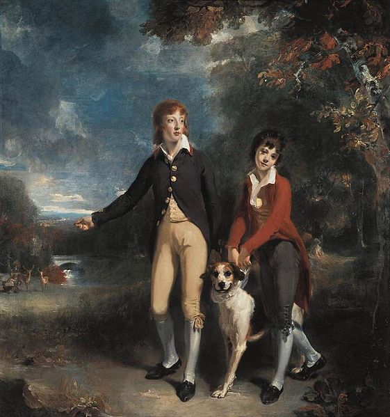 The Two Sons of the 1st Earl of Talbot © Thomas Lawrence / WikiCommons