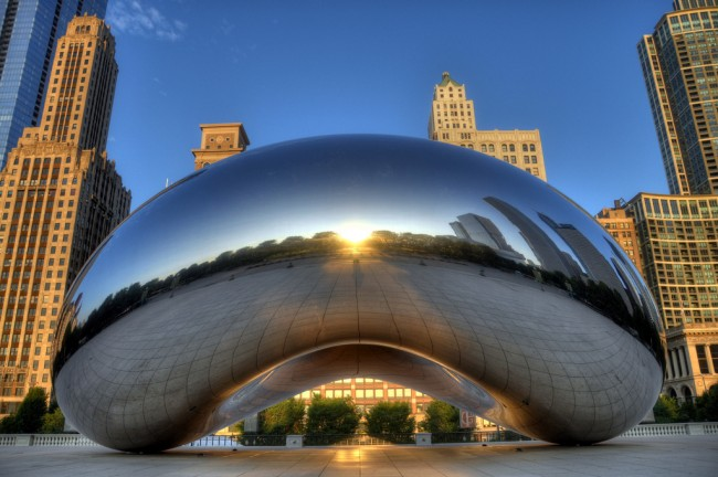 Cloud Gate | © Robert Lowe/Flickr