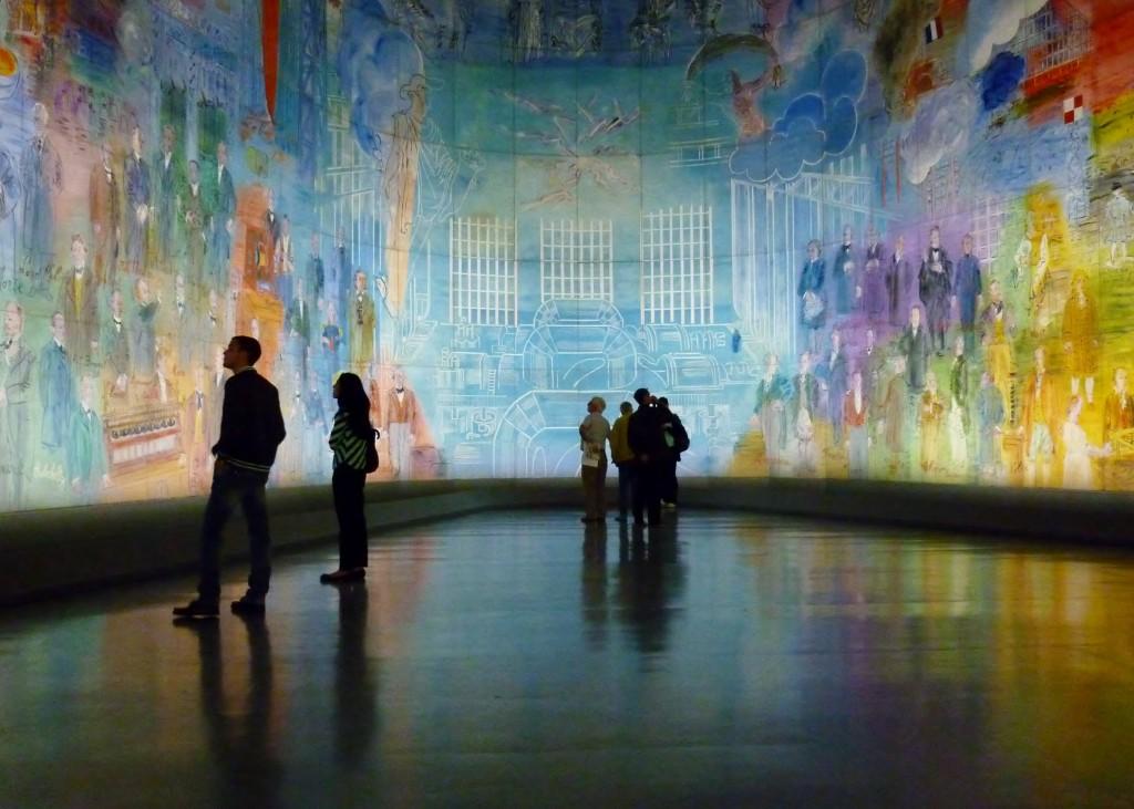 La Fée Électricité by Raoul Dufy at the Musée d'Art Moderne © Mark B. Schlemmer/Flickr