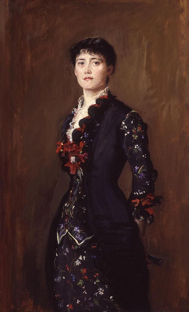 John Everett Millais, Louise Jopling, 1879 | © National Portrait Gallery/WikiCommons