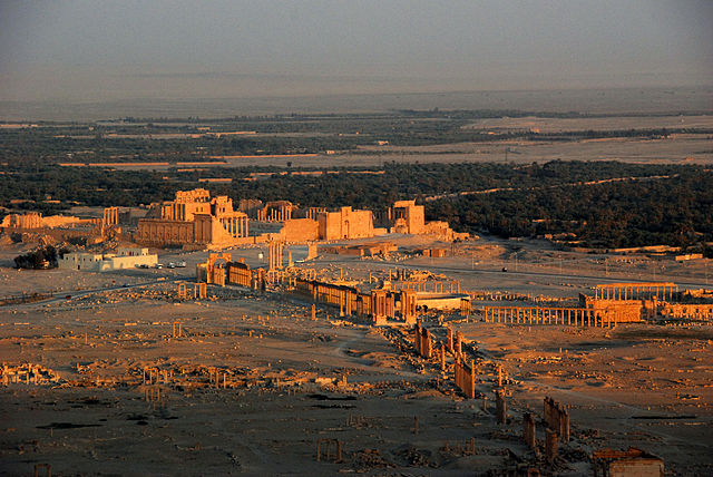 The Palmyra, Syria. The colonnade complex was reportedly destroyed by ISIS in October 2015 | © James Gordon/Wikicommons