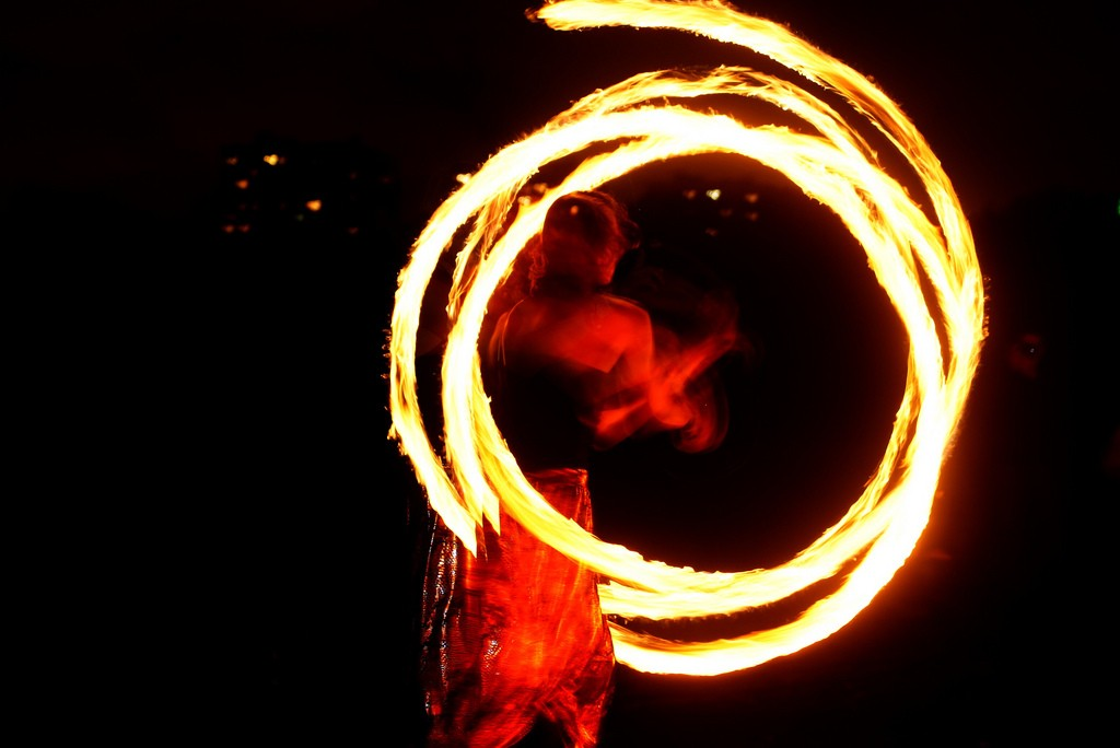 Ko Samet is known for its fire shows, Thailand © Paul Padshewscky / Flickr