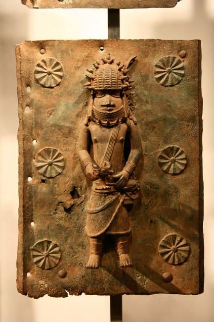 Benin bronze in the British Museum, London | © Michel wal/Wikicommons