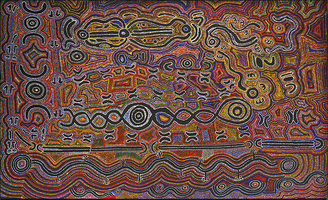 Aboriginal Art Cosmos Amp Iconography