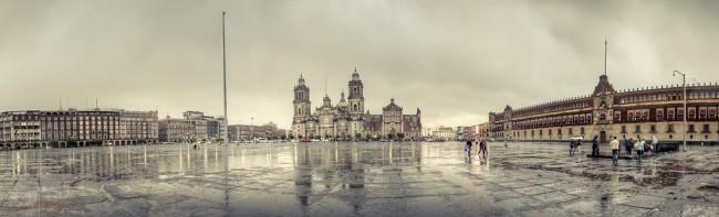 Tarde lluviosa en el Zócalo   ©Carlos Adampol Galindo/Flickr