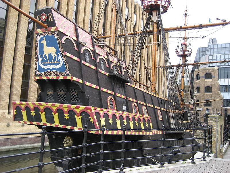 Replica of the Elizabethan Galleon | © Jose L. Marin/wikicommons