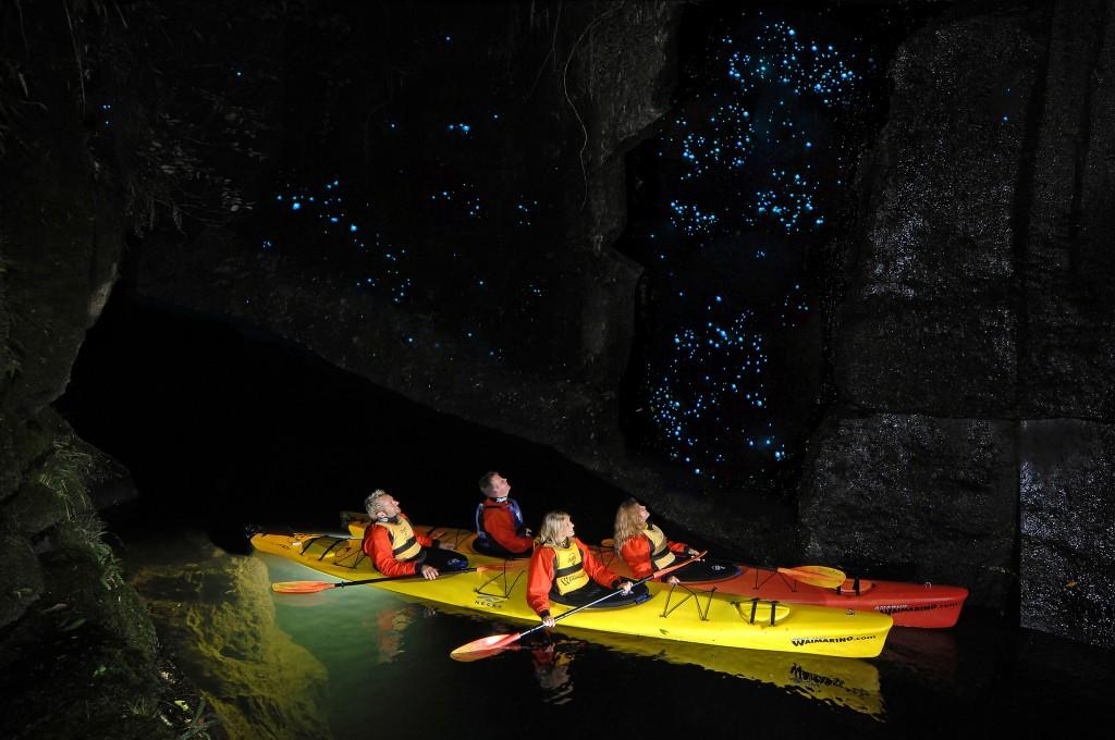 Lake McLaren, Tarunga, New Zealand. Glow worm caves ©neverunprepared