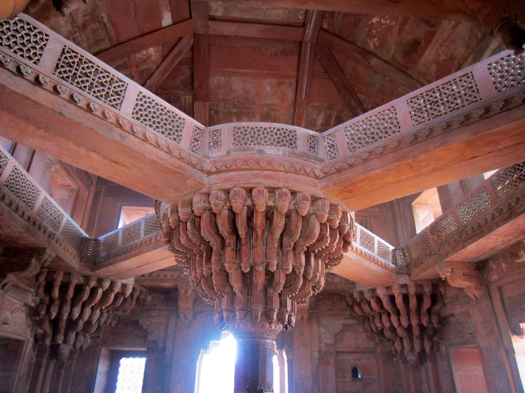 Interior, Diwan-I-Khas |©Flickr/Ramon