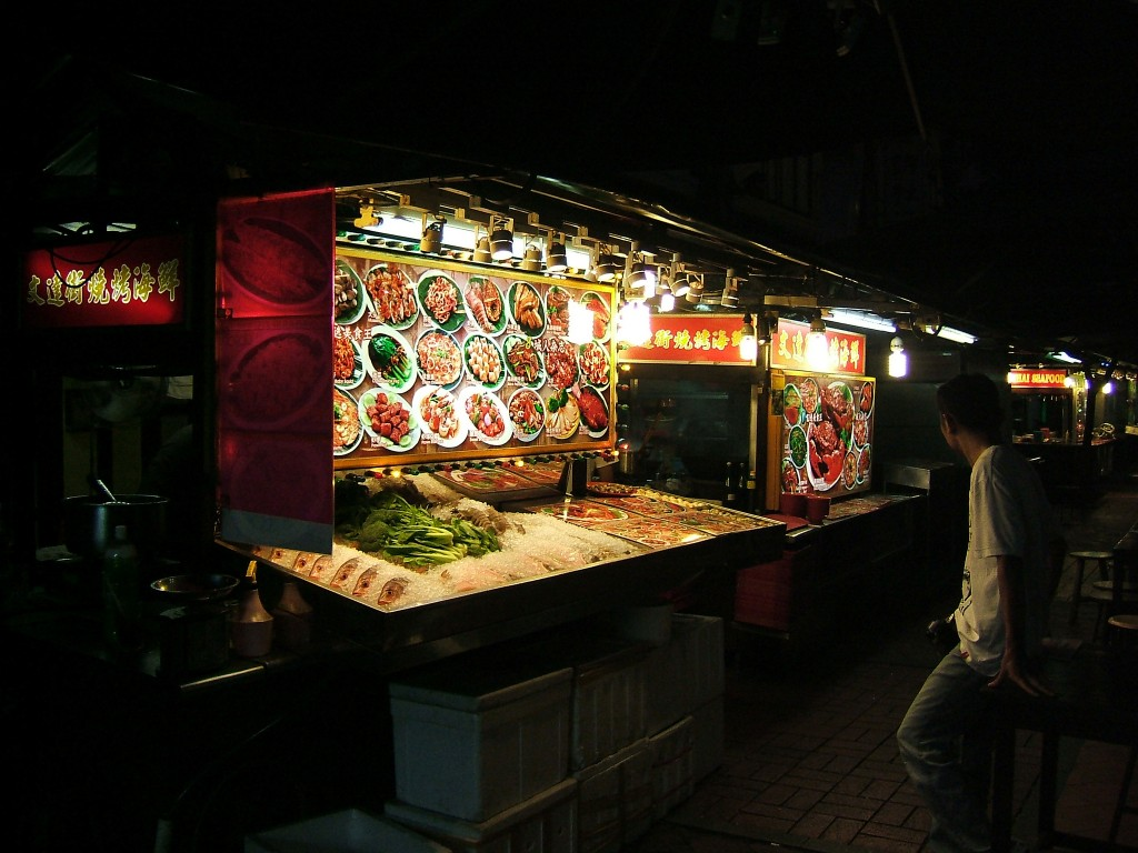 Chinatown fresh seafood stall ©shankar s.