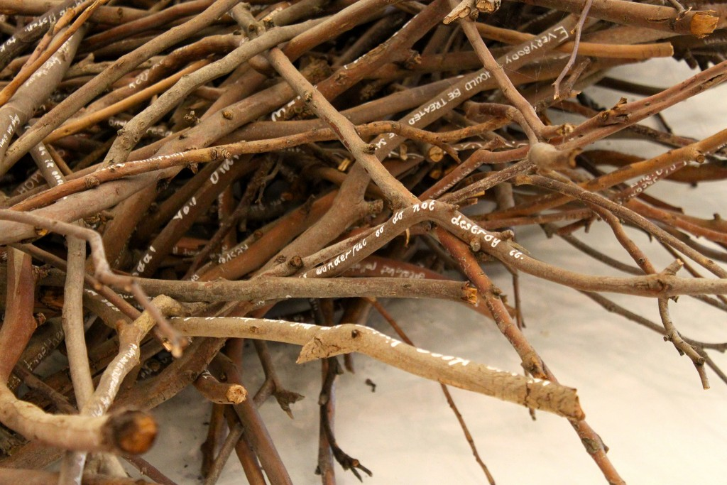 Aboriginal Art Made From Sticks | © Travis/Flickr