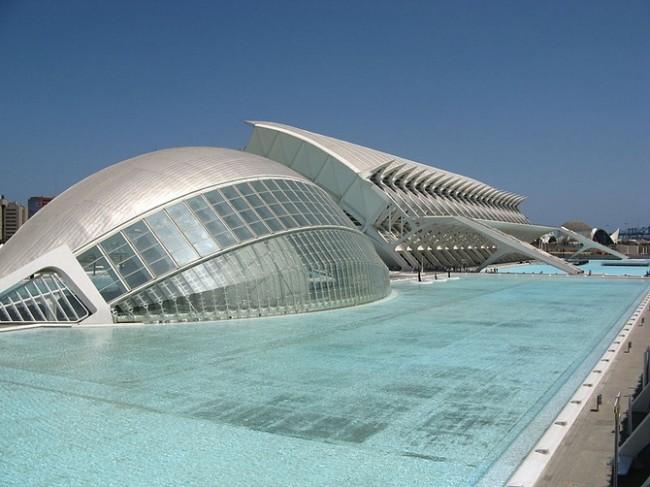 Ciudad de las Artes y las Ciencias © Demiannnn/WikiCommons
