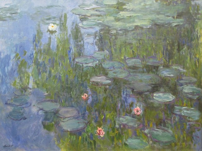 Water lilies © Claude Monet / WikiCommons