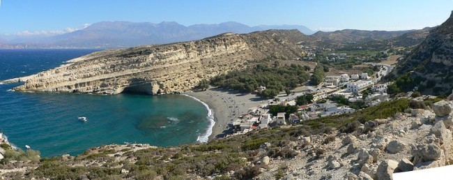 Matala | © SuperFLoh/WikiCommons