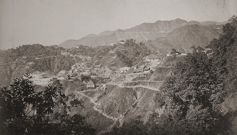 Mussoorie and Landour, 1860s | © Samuel Bourne/WikiCommons