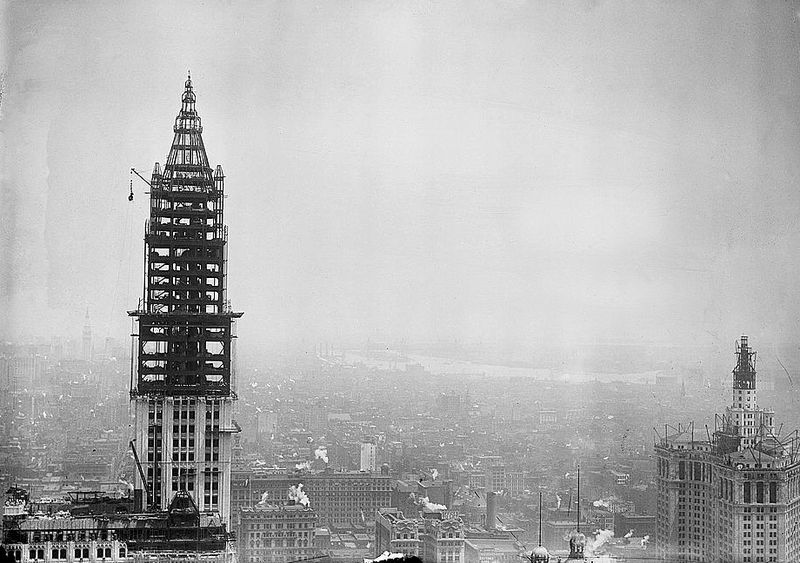 Woolworth Building 2163937214 88749d2378 o | © AuthorGeorge Grantham Bain Collection (Library of Congress)/WikiCommons