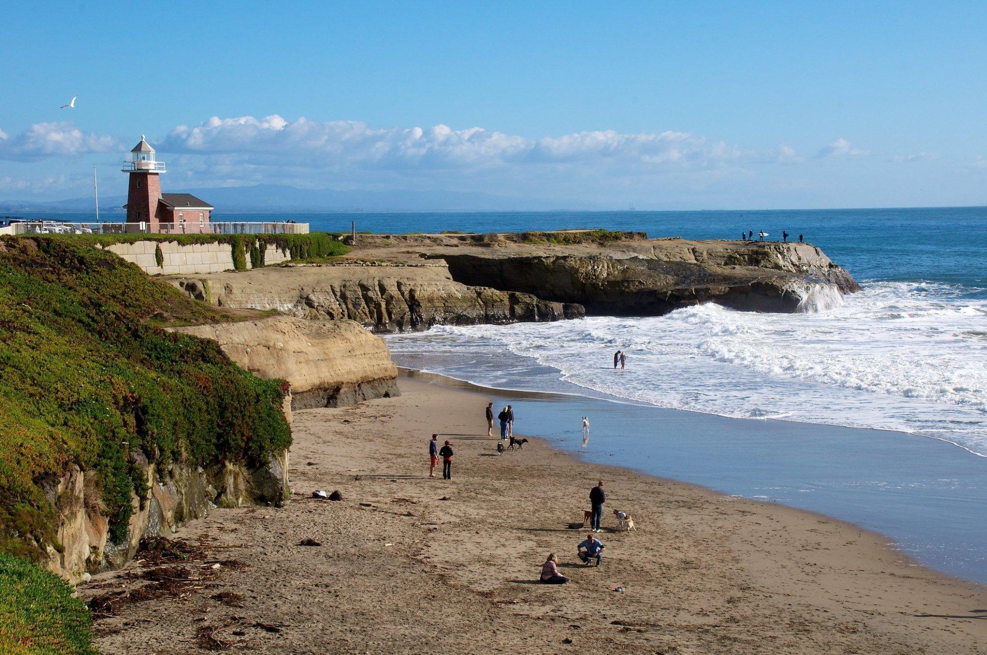 Top Beaches In Santa Cruz California