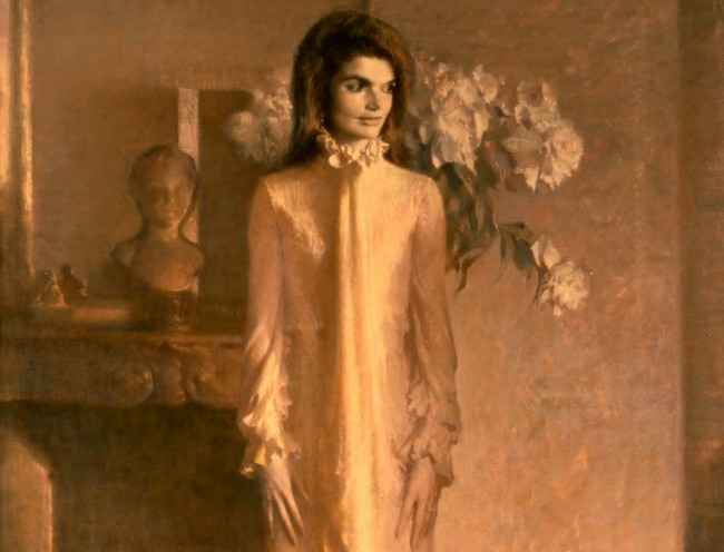 [ S ] Aaron Shikler - Jacqueline Bouvier Kennedy Onassis (Mrs. John F. Kennedy) (1970) - Detail | © cea +/Flickr