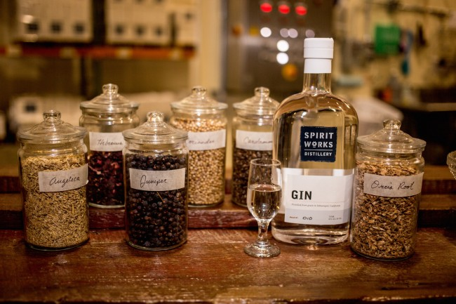 Gin | © Courtesy of Spirit Works Distillery