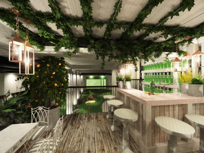 Clubhouse Gin Terrace | Courtesy of Meri Mance PR
