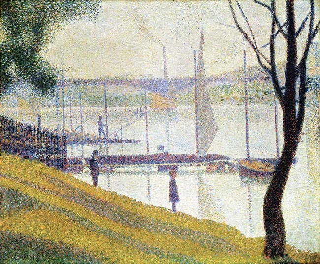 The Bridge at Courbevoie, by Seurat | © Pimbrils/WikiCommons
