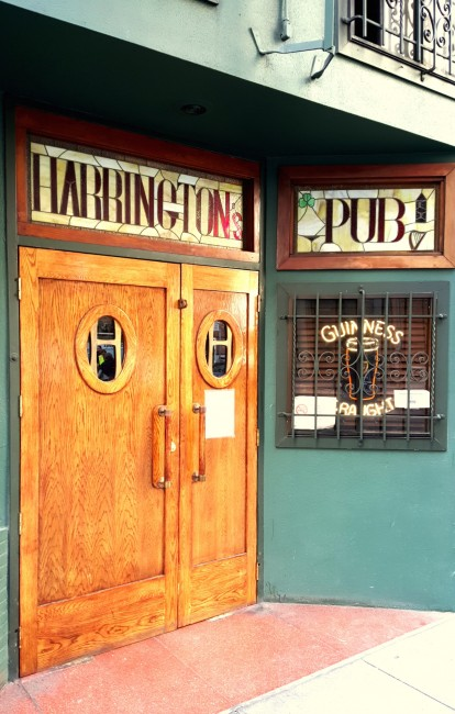 The Art Deco Door at Harrington's © Brixton Key