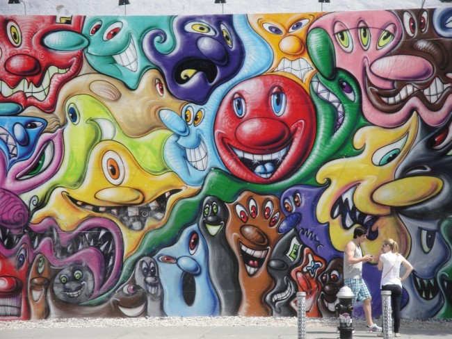 Kenny Scharf mural| © Christopher Paulin/flickr