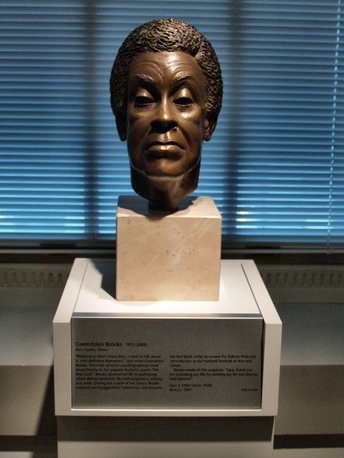 Bronze Portrait Bust of Gwendolyn Brooks   © takomabibelot/Flickr