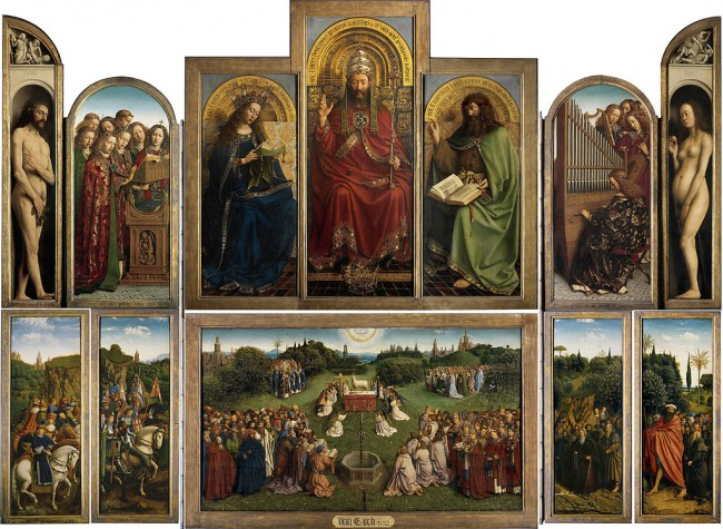The Ghent Altarpiece   ©Saint Bavo Cathedral/WikiCommons