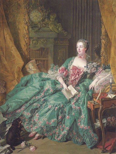 Figure 4, Portrait of Madame de Pompadour (1721-1764) by François Boucher at the Alte Pinakothek, Munich, 1756 | Slick-o-bot/WikiCommons