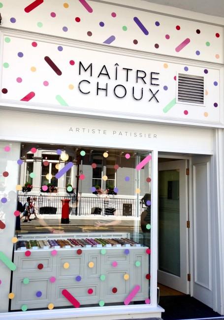 Maître Choux Shop Front | Courtesy of Maître Choux