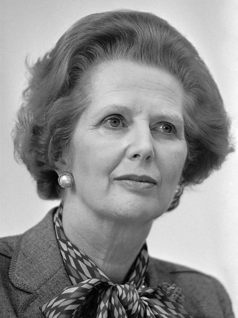 Photograph of Margaret Thatcher © Jan Arkestejin / WikiCommons