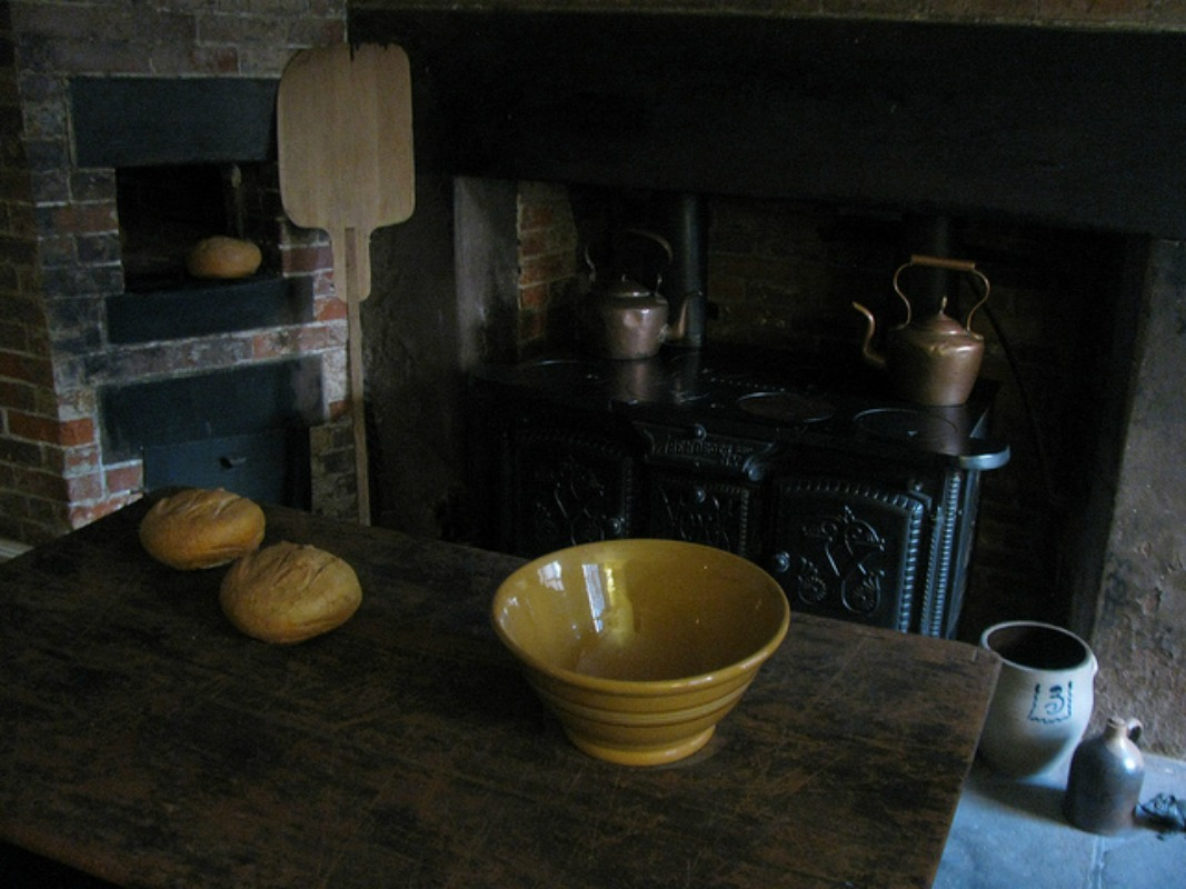 Merchant's House Kitchen| © Eden, Janine and Jim/flickr