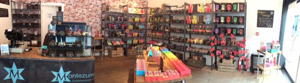 Montezuma's Spitalfields-Store   Courtesy of Montezuma's