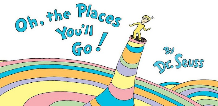 The cover of Oh, the Places You'll Go! ©Random House
