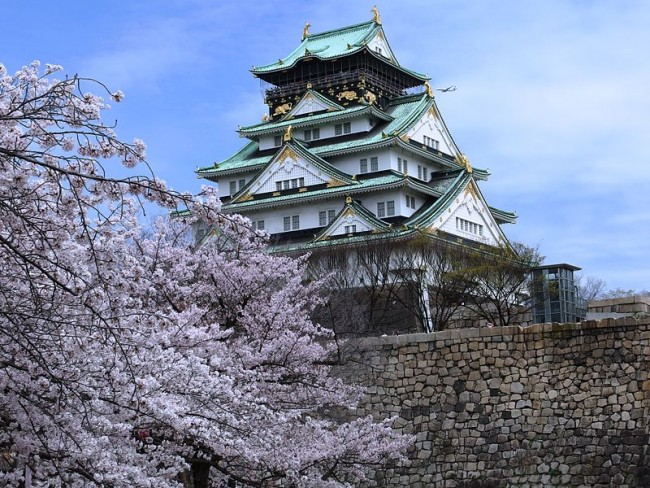 Osaka Castle | © Mc681/WikiCommons
